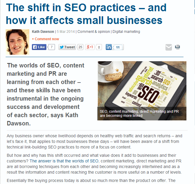 the shift in seo practices and how it affects small businesses
